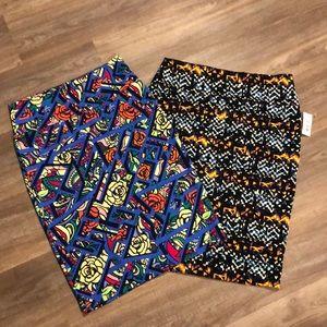 2 LuLaRoe Pencil Skirts